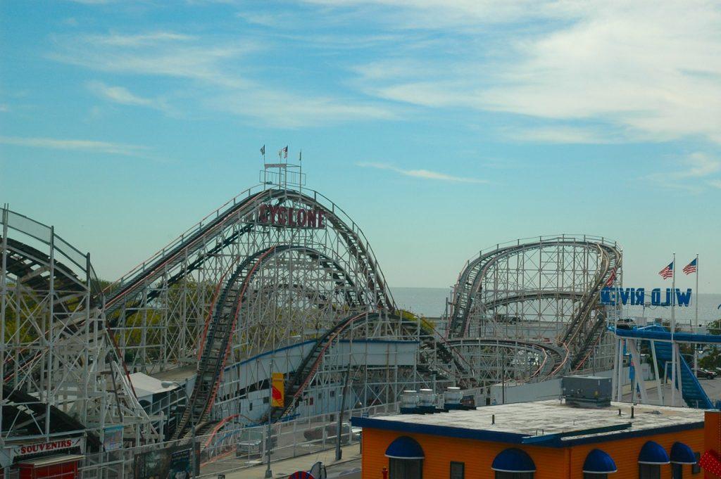 el parque coney island en nueva york