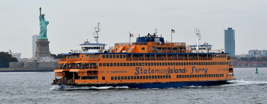 ferry gratis en new york