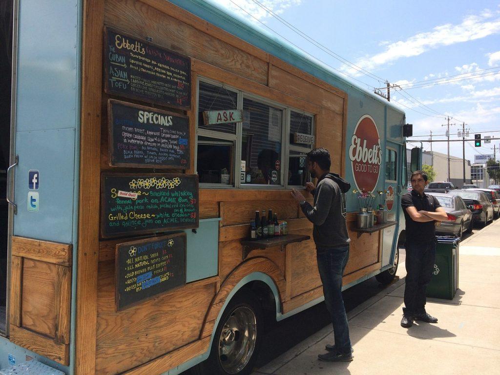 los carros de comida en nueva york