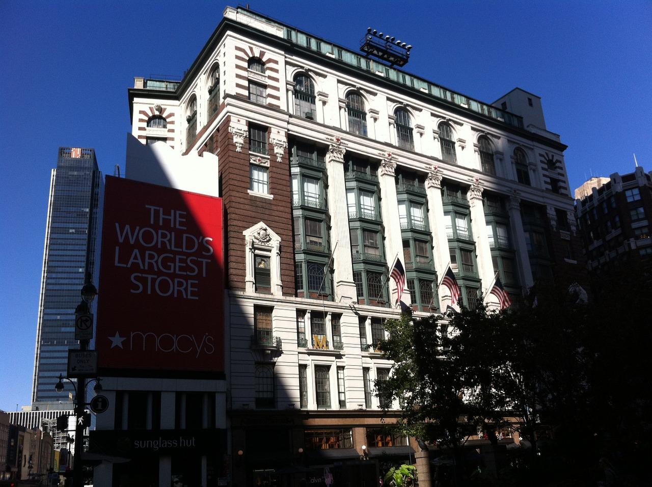 Cuales Son Las Tiendas Departamentales en New York?