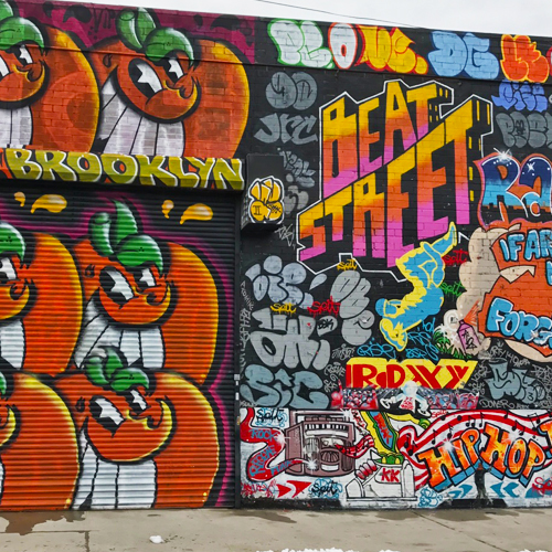 graffiti en brooklyn